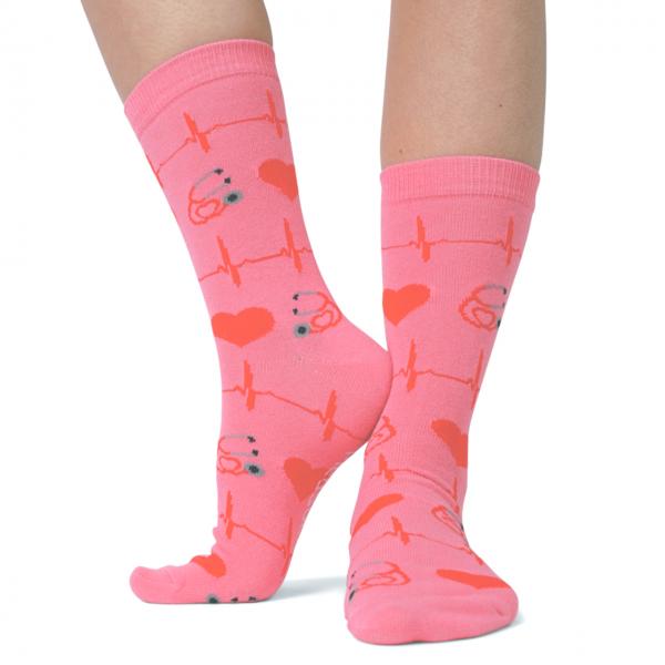 MedSocks Valentijn roze kopen