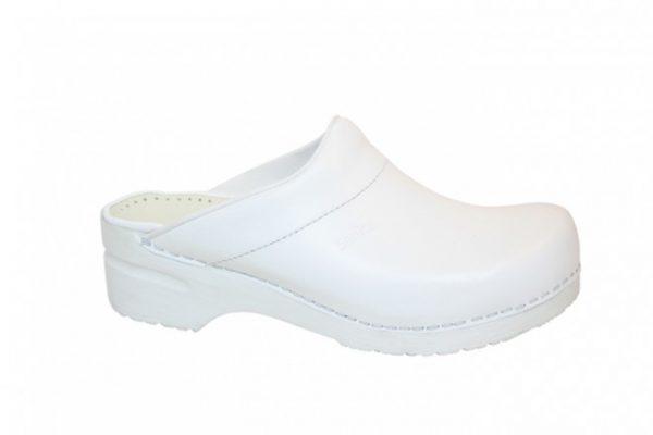 Witte Sanita klompen kopen