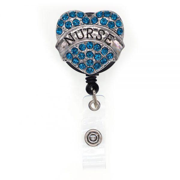 Badge jojo nurse blauw