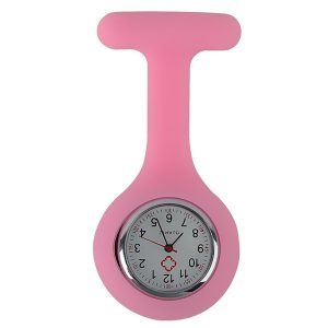 Verpleegkundige horloge licht roze