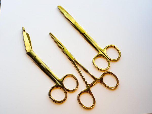 Verpleegkundige scharenset goud kopen