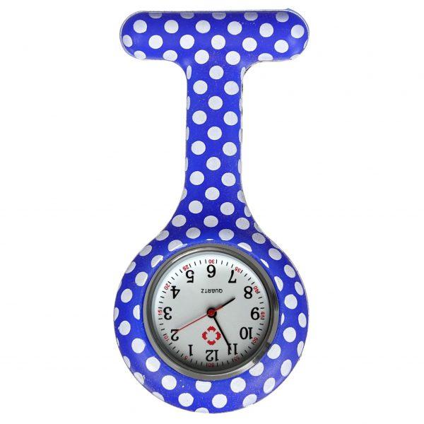 Verpleegkundig horloge blauw stippen kopen