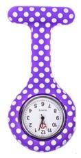 Verpleegkundig horloge paars stippen kopen