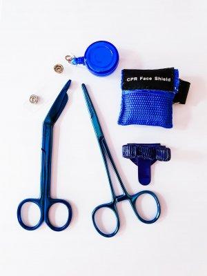 Blauwe cadeauset verpleegkundige kopen