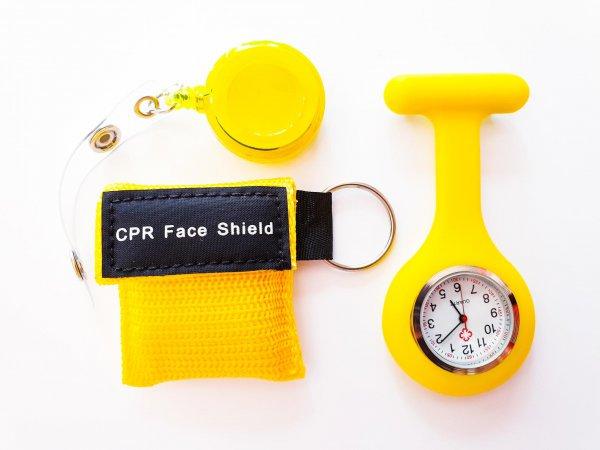 Verpleegkundige set geel