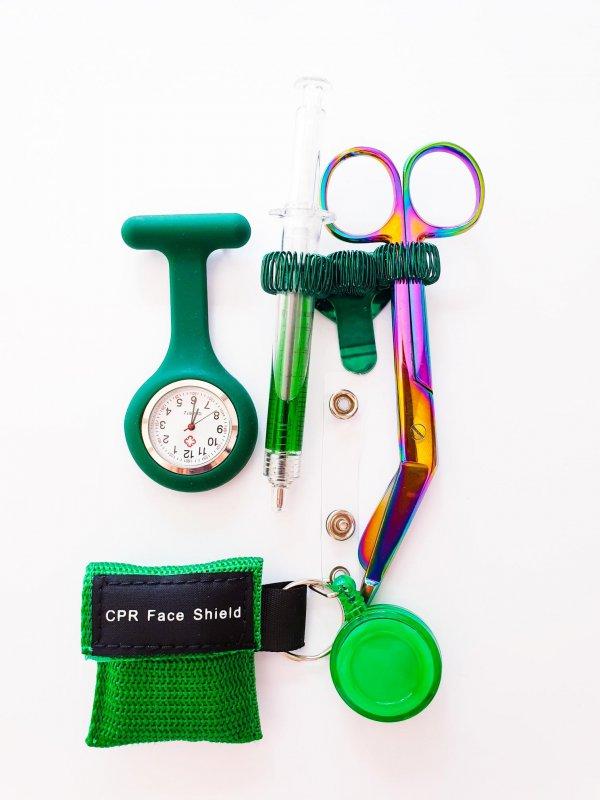 Verpleegkundige set groen geslaagd online bestellen