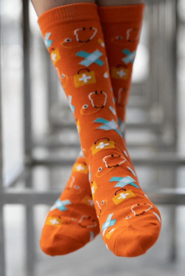MedSocks Zorg oranje online kopen