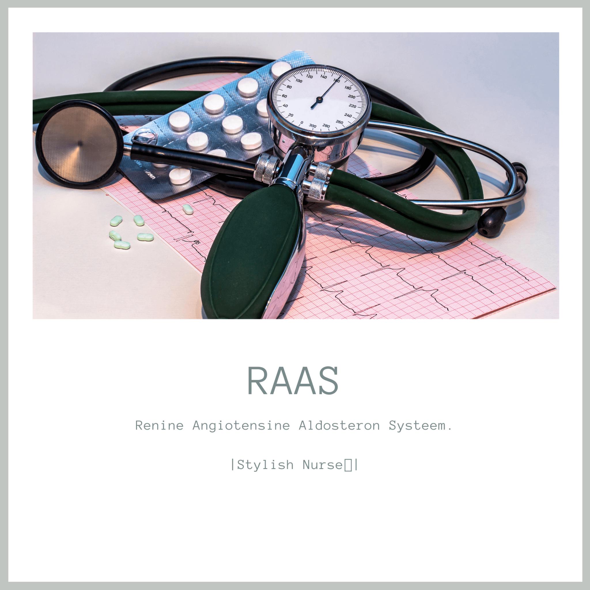 Informatie over Renine Angiotensine Aldosteron Systeem (RAAS)