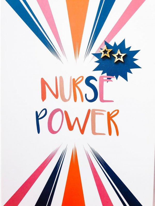 NursePower SuperStar oorbellen goud kopen