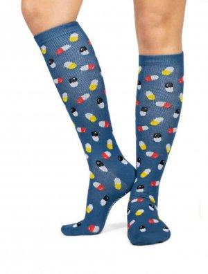 Compressie sokken met medicatie icoontjes online bestellen
